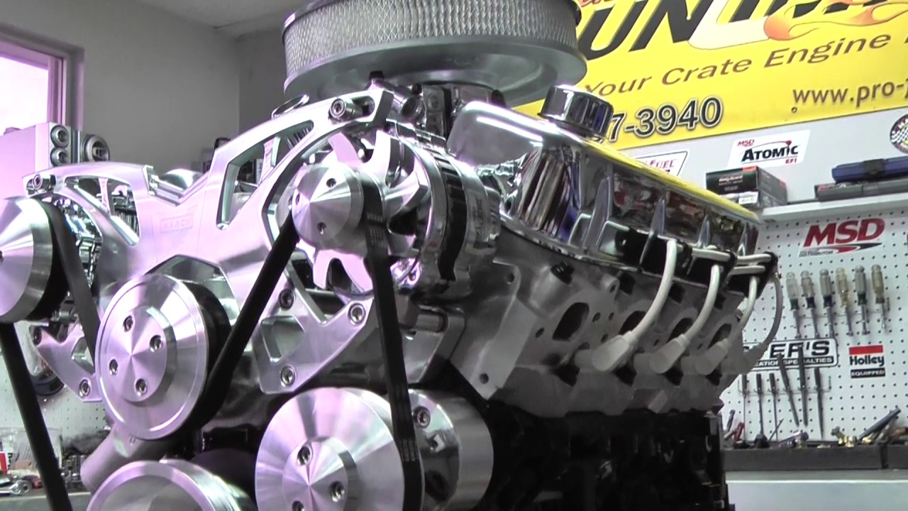 502 550HP BBC Crate Engine Package