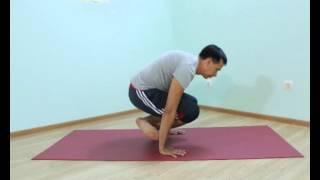 Аштанга йога для начинающих.  Урок № 44.  Проброс