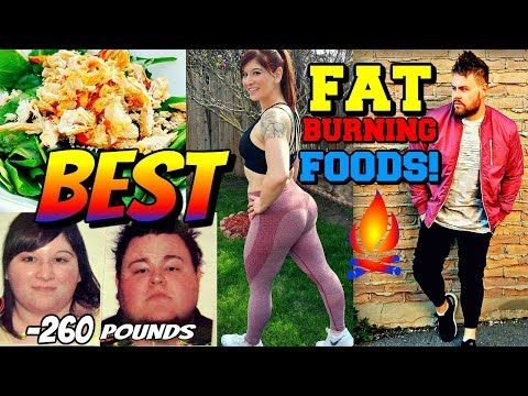 BEST FAT BURNING FOODS for WOMEN & MEN The EXTREME WEIGHT LOSS Couple