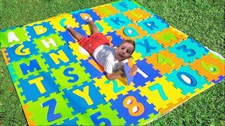 ABC Alphabet Phonics Nursery Rhymes Song for Kids with Elya TV