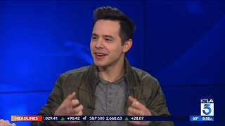 "David Archuleta Shares His New Christmas Album ""Winter in The Air"""