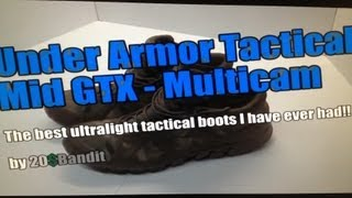"Under Armor Tactical Mid GTX  ""The Boot That Transcends Tactical"" by 20DollarBandit"