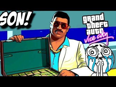 BÜYÜK EFSANE FINAL ! GTA Vice City Ps 4 Türkçe #SON