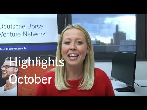 Deutsche Börse Venture Network Highlights October 2017