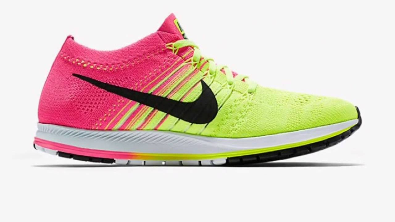 85830013740 NIKE ZOOM FLYKNIT STREAK 6 (VOLT)   PEACE X9 - YouTube