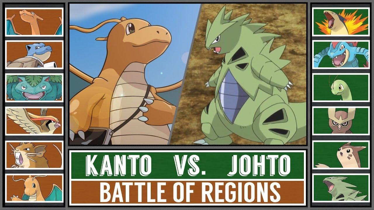 Battle of Regions: KANTO vs. JOHTO (Pokémon Sun/Moon ...