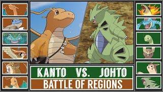 Battle of Regions: KANTO vs. JOHTO (Pokémon Sun/Moon)