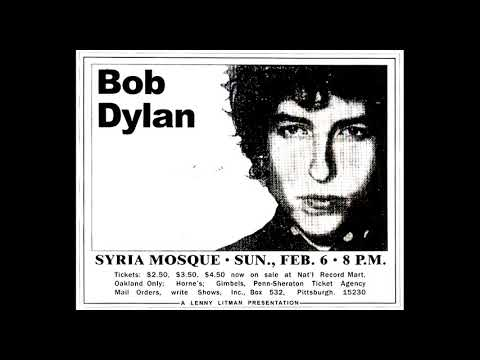 Bob Dylan- Positively 4th Street (Live Pittsburgh 1966 RARE) mp3