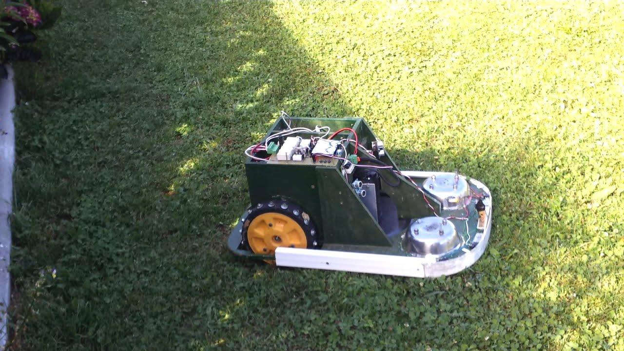Diy robot lawn mower arduino diydry