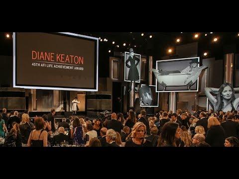 Diane Keaton AFI Life Achievement Award Tribute Grand Entrance