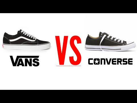 Vans Vs Converse (4 Outfits, You Decide) | Nathan McCallum