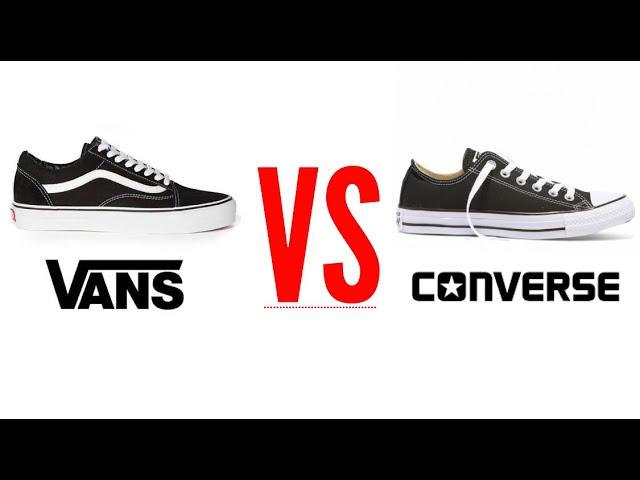 Vans Vs Converse (4 outfits, you decide