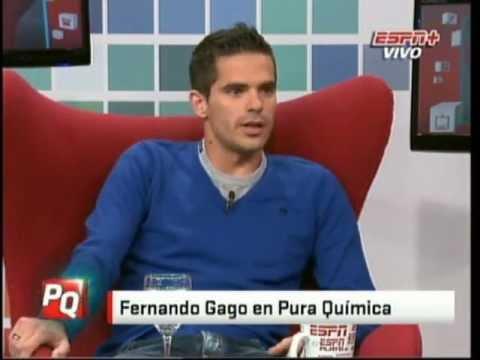 Fernando Gago Pura Quimica.