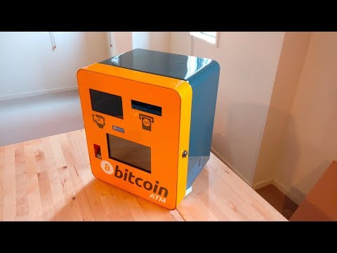 Bitcoin ATM Unboxing