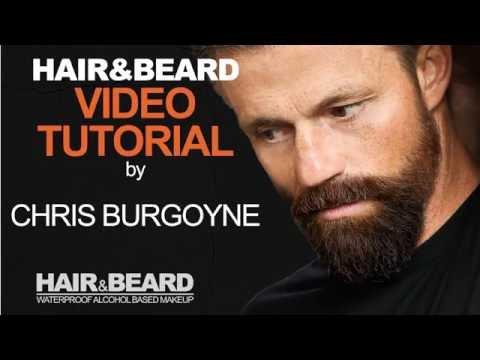 Eba Hair Beard Makeup Tutorial By Chris Burgoyne