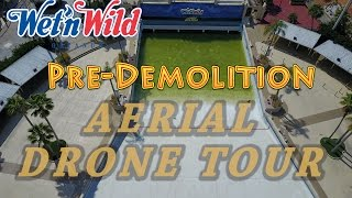 Wet 'n Wild Orlando – Pre-Demolition Aerial Tour