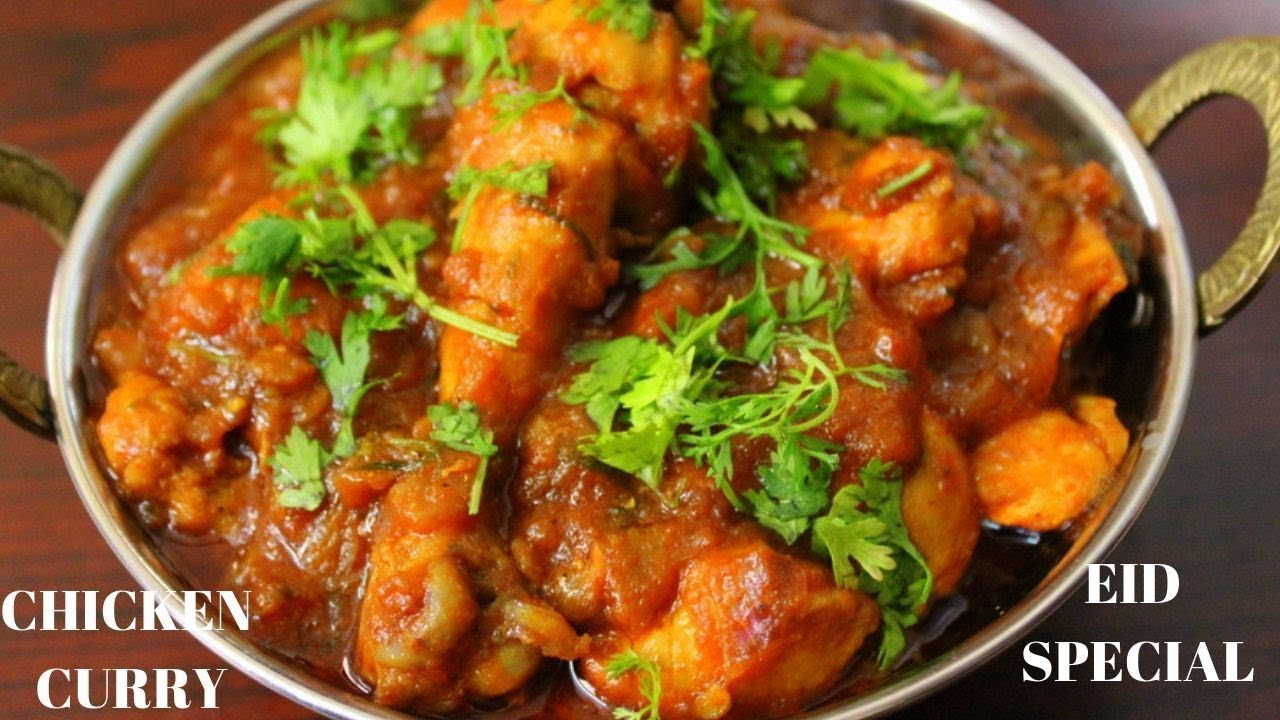 Indian Chicken Curry Eid Special Recipe Simple Chicken Curry For Beginners Youtube