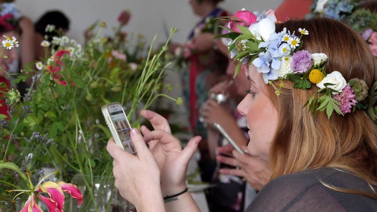 Floral Stylist Flower Crown Workshop Youtube