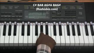 Raja rani (airport scene) - bgm - piano tutorials