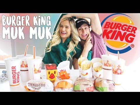 Burger King MukMuk! (Mukbang) ft David Alvareezy