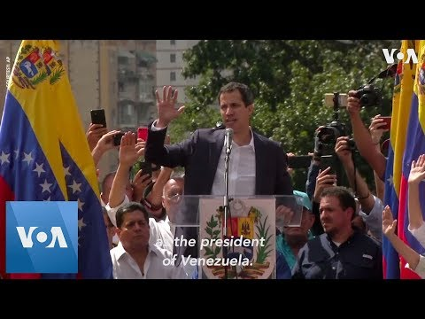 Maduro Breaks Off Ties with US as Trump Recognizes Guaido as Venezuela's Interim President