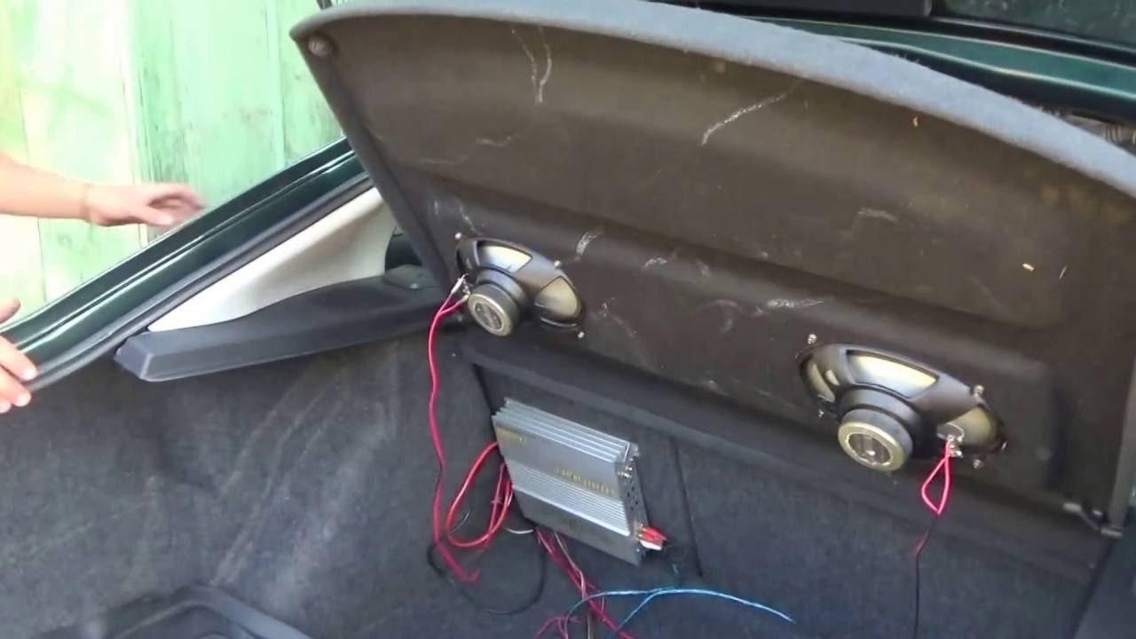 συνδέω δύο ενισχυτές το αυτοκίνητό μου να βγαίνω με μια σπέσιαλ