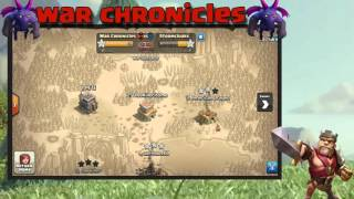 Clash of clans Recruiting Vid - War Chronicles TH9 - Th11