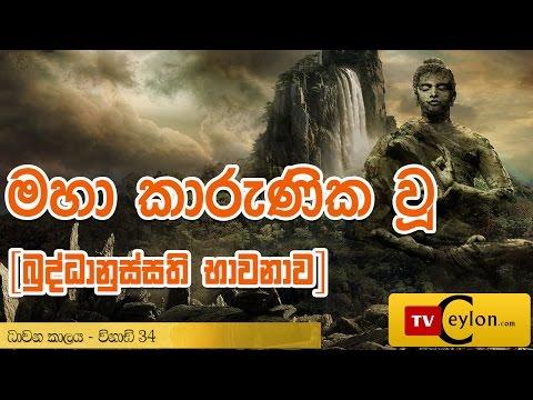 Maha Karunika Wu Shanthi Nayakayan Wahansa | Buddhanussati Bhavanawa Sinhala