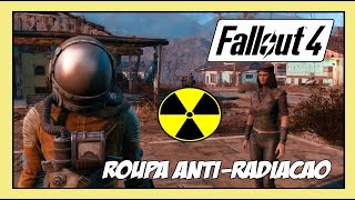 Fallout 4 - Dicas #4 - Melhor Roupa Anti-Radiação do Jogo [Hazmat Suit Location!! ]