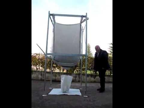 big bag con valvola regola scarico youtube. Black Bedroom Furniture Sets. Home Design Ideas