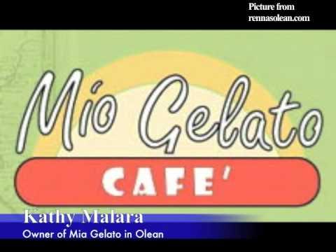 WVTT News- Inverview with Mio Gelato Owner Kathy Malara