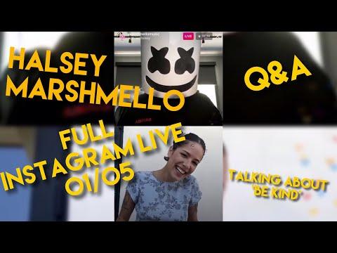 halsey-and-marshmello-full-instagram-live-01/05/2020