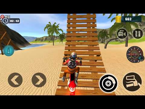 Motocross Beach Bike Stunt Racing 2018 / Motor Racer Games / Android Gameplay FHD #2