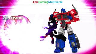 Optimus Prime And Twilight Sparkle VS Annoying Orange And Inspector Gadget In A MUGEN Match / Battle
