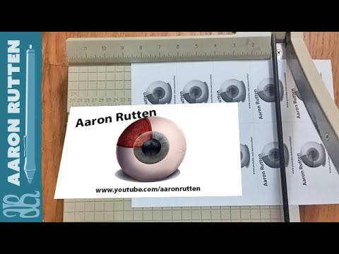Photoshop tutorial printing business cards at home youtube photoshop tutorial printing business cards at home reheart Gallery