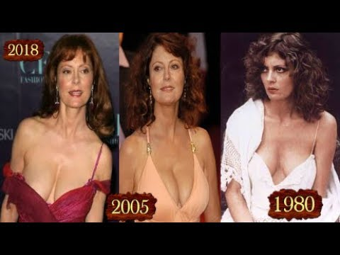 Susan Sarandon Awesome Age Transformation Befor and After 2018
