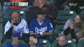 Fan drops ballpark food two se…