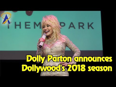 Dolly Parton Presents Dollywood's 2018 Season Of Showstoppers