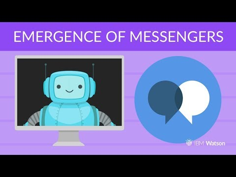 Emergence of Messengers and Cognitive Computing - [Build Your Own Chatbot]