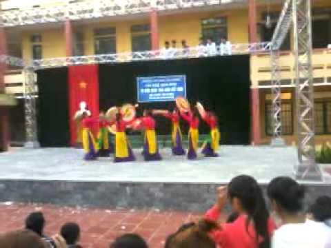 Múa Những Cô gái Việt Nam b6k15 Đinh Tiên Hoàng