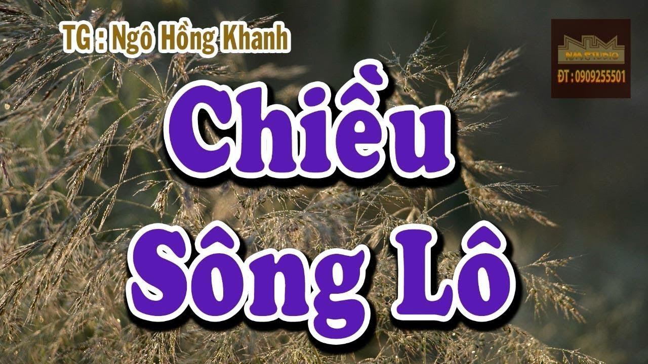 Chiều Sông Lô Karaoke | Tập Hát Vọng Cổ | Beat Vọng Cổ | Dây Kép (Sol)