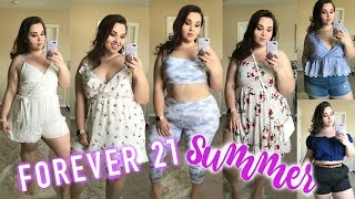 Forever 21+ Summer Try-On Haul |Plus Size Fashion|