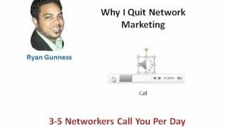 why i quit network marketing - Ryan Gunness