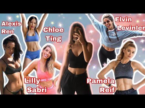 hangisi en iyi? | Chloe Ting, Pamela Reif, Lilly Sabri, Elvin Levinler, Alexis Ren