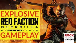 Red Faction Guerrilla Remastered Gameplay | Re-Mars-tered Destruction On PC
