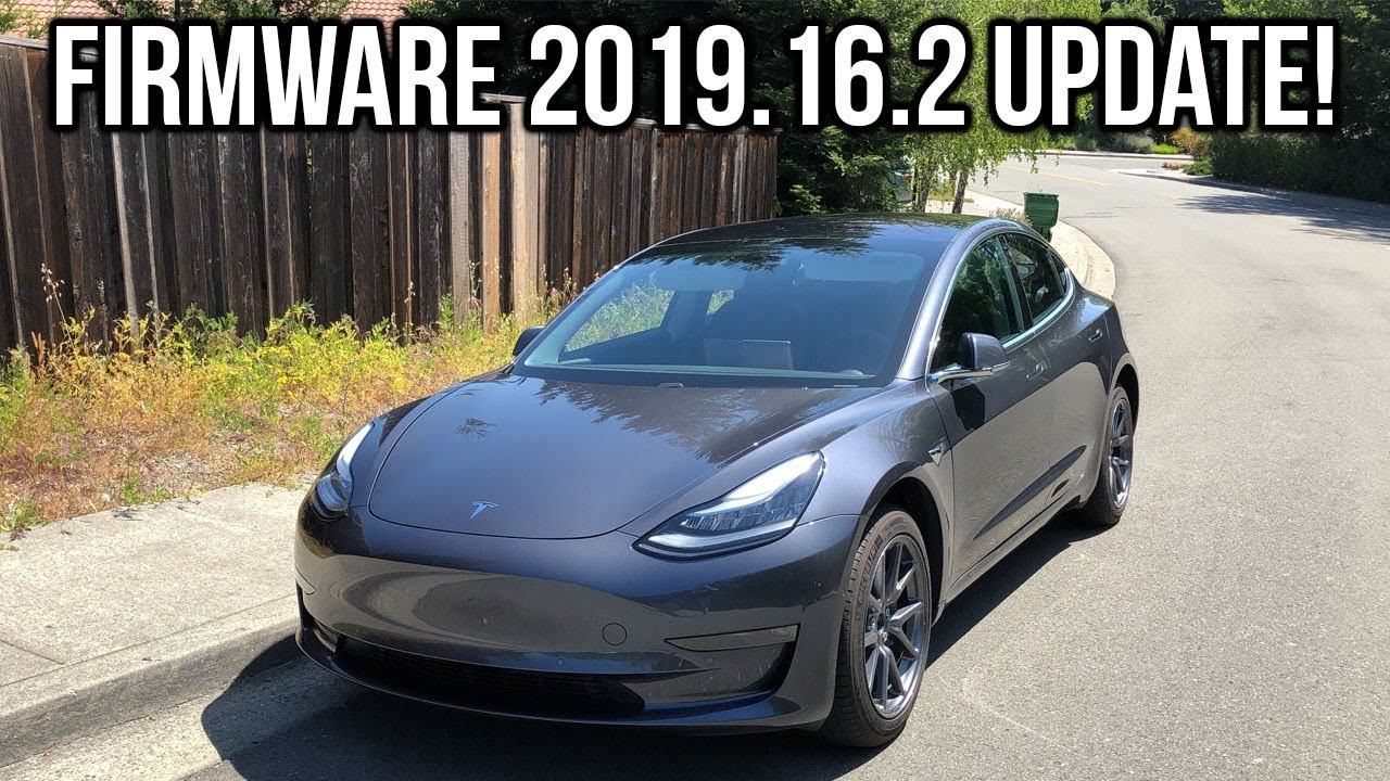 Firmware 2019.16.2 Update for Tesla Model 3! - YouTube