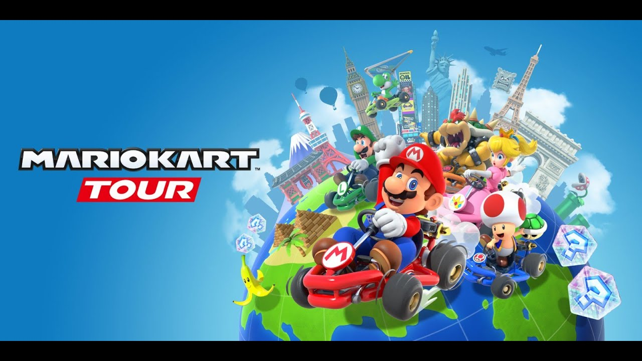 Mario kart Tour + Friend code
