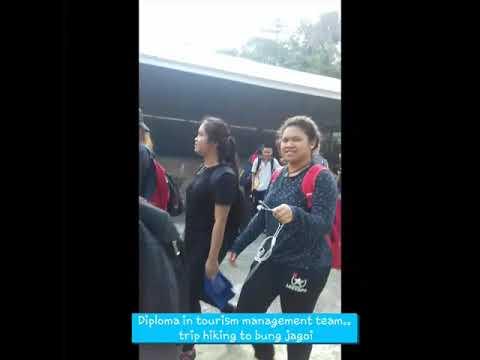 Hiking at bukit jagoi, bau. Kuching- (tourism in management) cosmopoint college