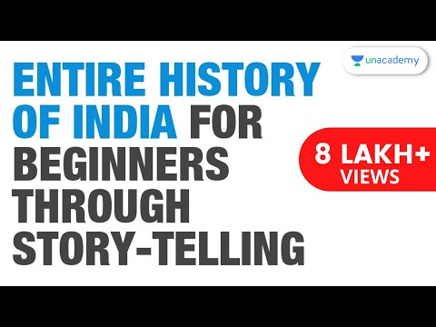 Entire History of India for Beginners through story-telling
