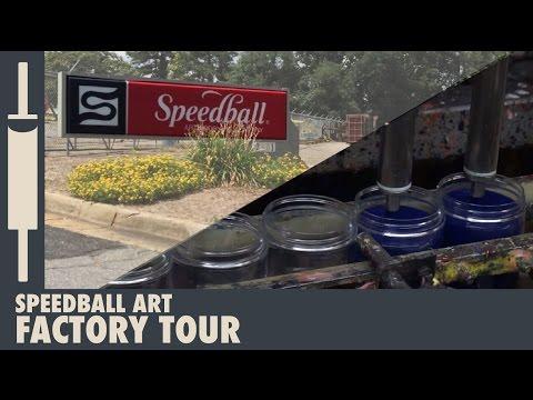 Speedball Art Supply Factory Tour